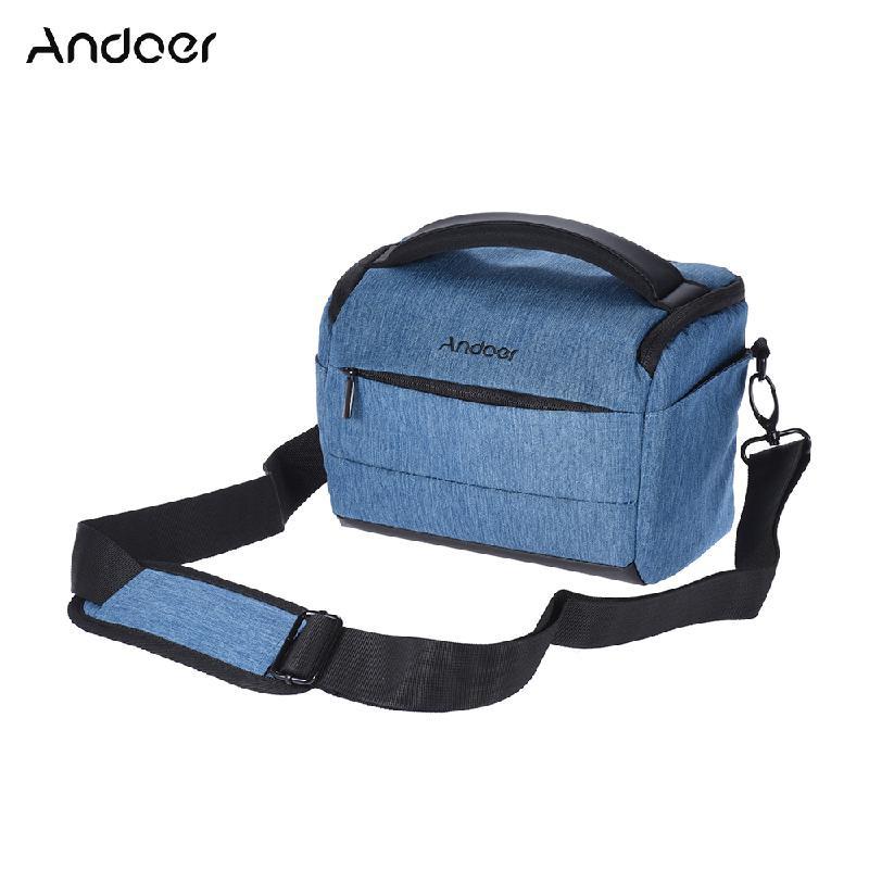 ANDOER Синий матин неопрена водонепроницаемый мягкий чехол для объектива камеры сумка размер sml xl
