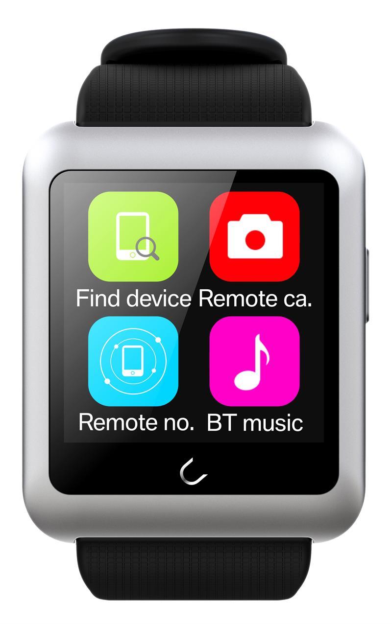Uwatch Серебристый цвет умные часы kaboson h8 ios