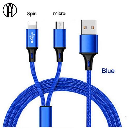 WH Синий цвет 2 IN 1 Тип C