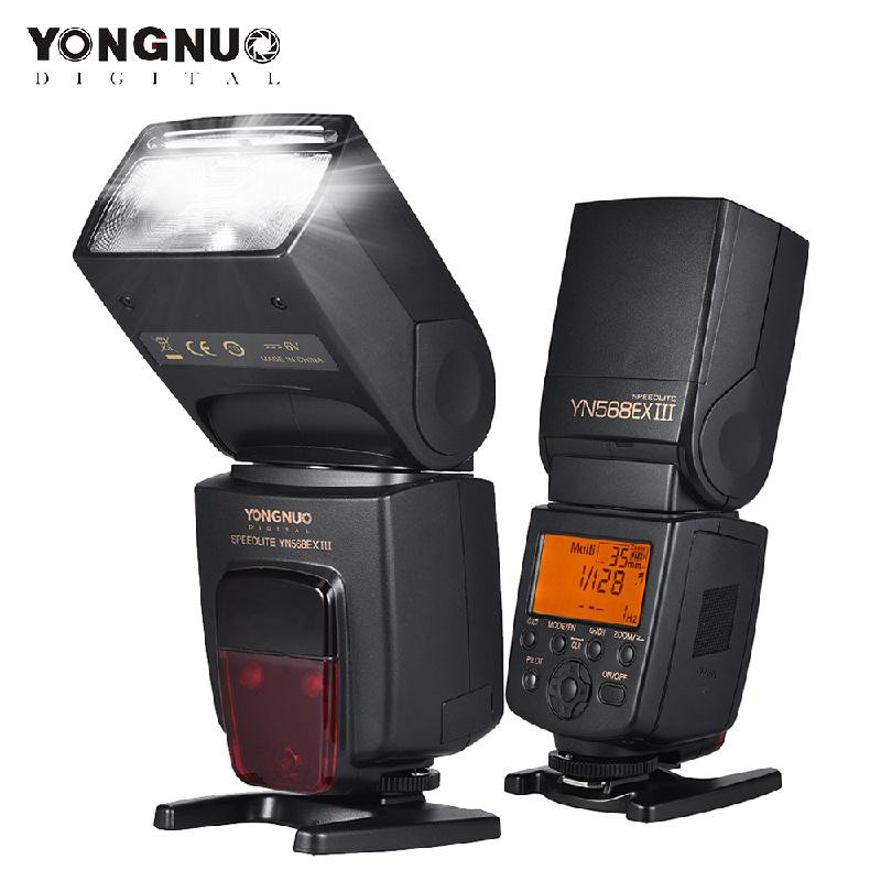 ANDOER черный yongnuo yn 510ex wireless ttl flash speedlite yongnuo yn 622c ii hss e ttl flash trigger for canon nikon dslr cameras