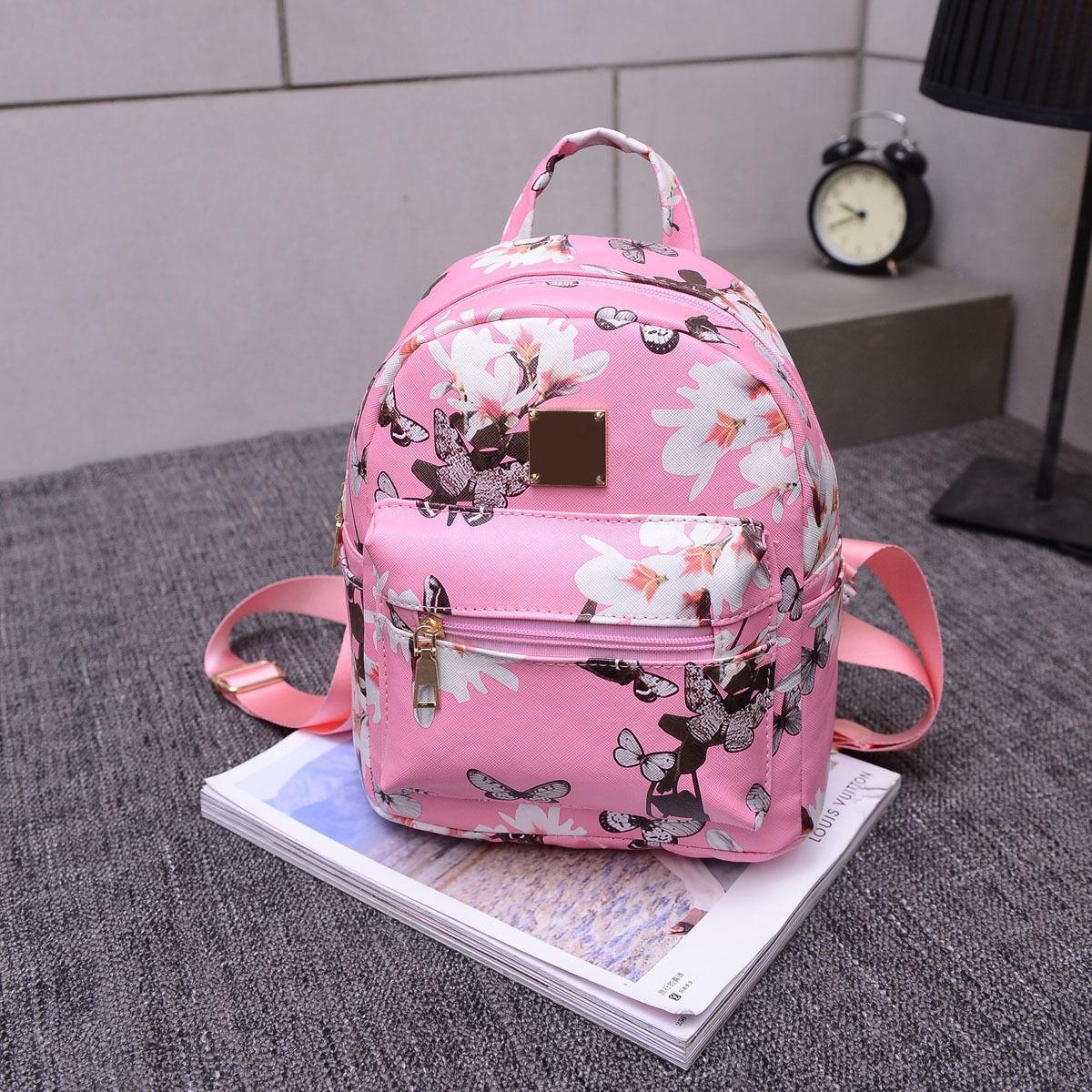 Meihuid розовый disney disney школьной зрачки девушка 3 4 6 сортов отдыха и путешествия плеча сумка 0168 розовых детского рюкзак