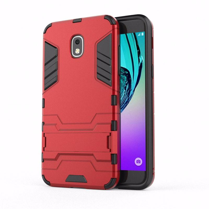 WIERSS красный Ударопрочный жесткий чехол для Samsung Galaxy J3 2018 J3 Star достигает Amp Prime 3