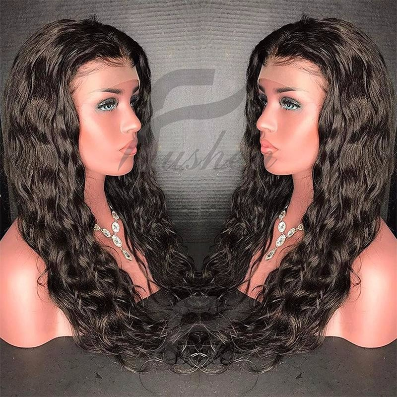 bluebell 1B 16 дюймов long hair wigs body wave synthetic wigs