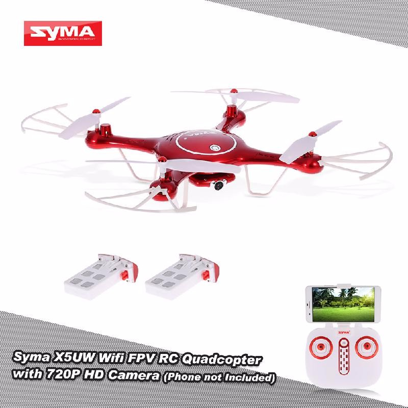 GoolRC Red professional syma x5hw rc selfie drone with camera quadcopter wifi fpv transmission remote controll dron helicopter toys for boy