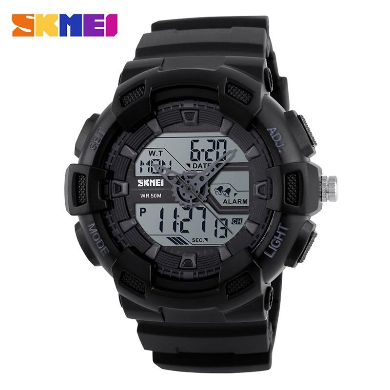 SKMEI Белый skmei спортивные часы кварц желтый 9106
