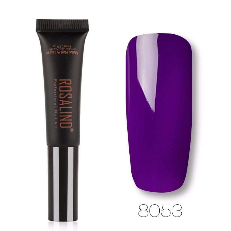 ROSALIND Новая версия обновления гель лак для ногтей pupa lasting color gel 019 цвет 019 sumptuous mane variant hex name c93a56
