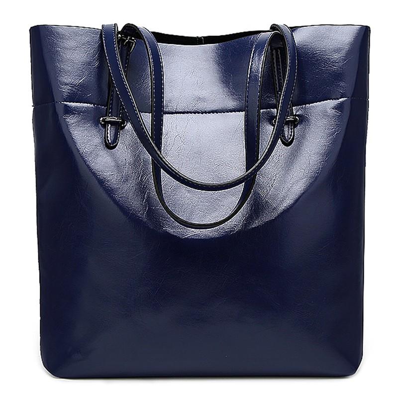Nikauto Blue L 2018 hot selling women hollow handbag shoulder bags tote purse messenger hobo satchel cross body bag female sacos bolsa gift
