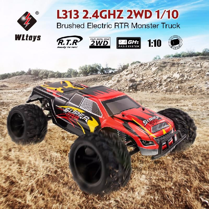 GoolRC Red lcracing 1 14th brushless monster truck rtr world s 1st emb mth rtr version