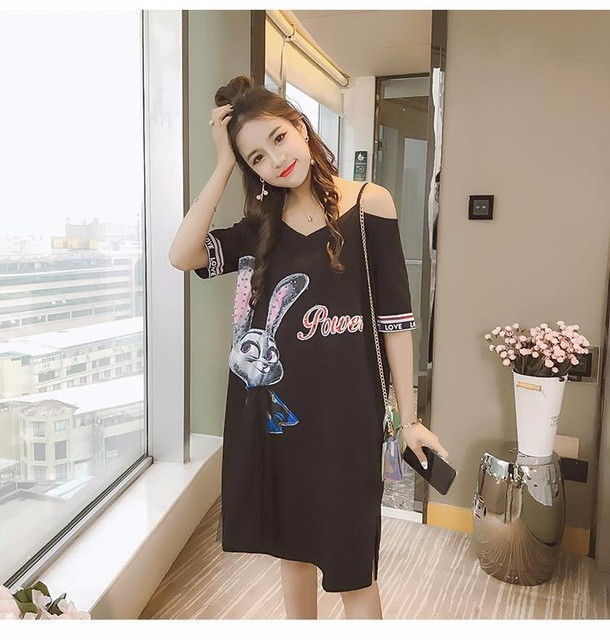 Платье платья элегантное платье женщин летнее платье SAKAZY черный M фото