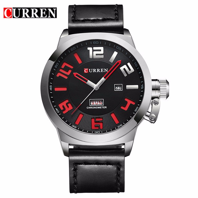 CURREN 02 relogio masculino 2017 forsining men s luxury brand military automatic mechanical watches leather watch relojes hombre
