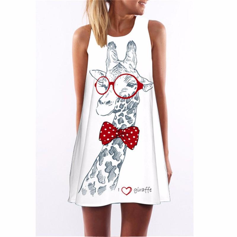 Платье женщин платье летнее платье SAKAZY Смешанный цвет S фото