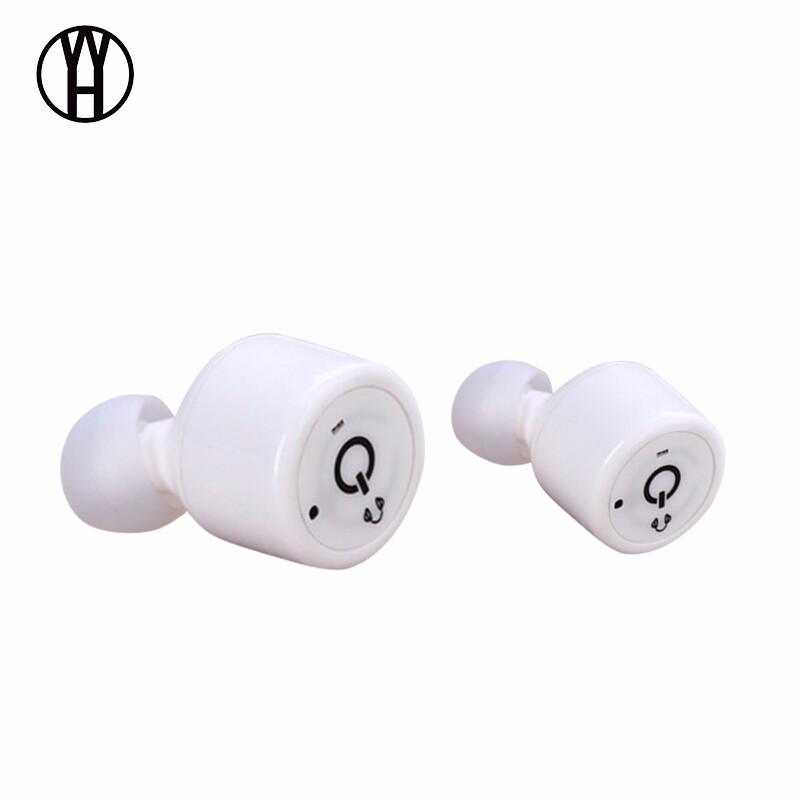WH Белый wh mini501 bluetooth беспроводные портативные наушники спорт музыка гарнитура hd стерео наушники mic для android ios смартфон