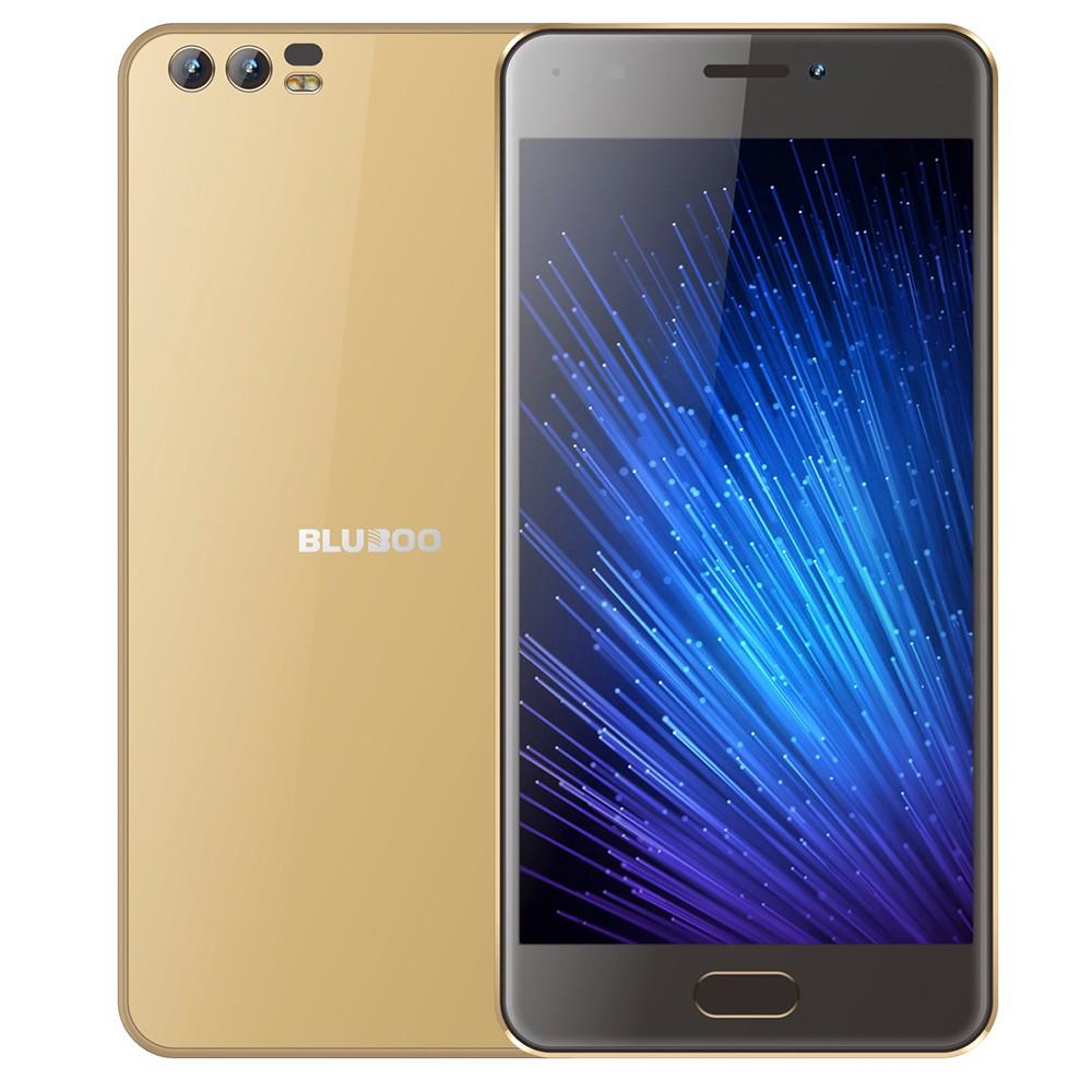WINN-TECH Золото bluboo d2 3g smartphone 1gb ram 8gb rom двойные задние камеры 5 2 дюймовый android 6 0 quad core mtk6580a