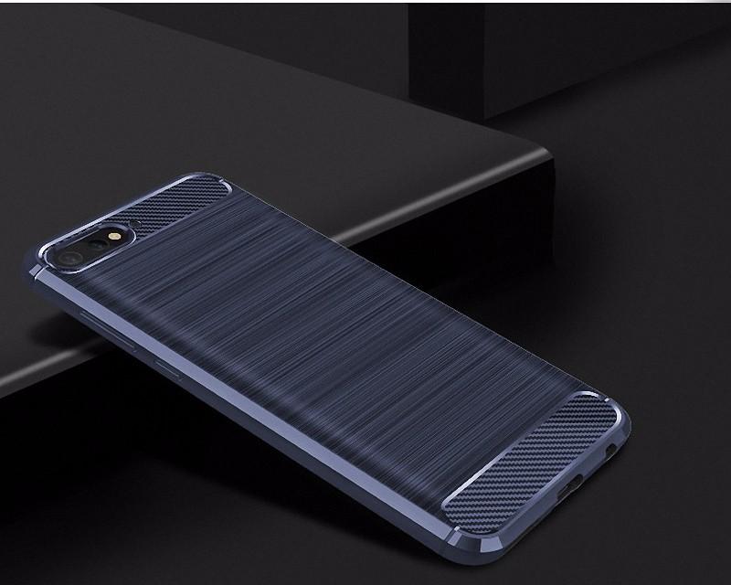 Для Huawei Y7 Pro 2018 WIERSS Защитный чехол для телефона WIERSS Темно-синий для Huawei Y7 Pro 2018 фото
