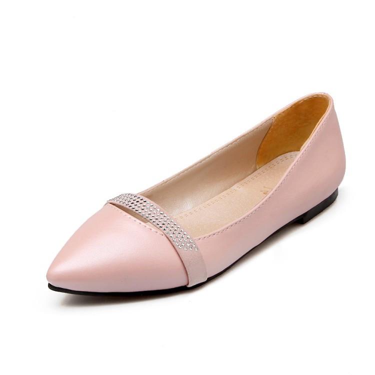 EAGSITY роза40 36 женская обувь на плоской подошве 2015