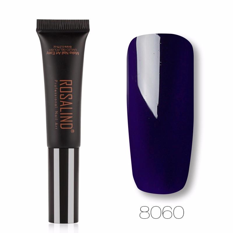 ROSALIND Отрицательная ионная температура гель лак для ногтей pupa lasting color gel 019 цвет 019 sumptuous mane variant hex name c93a56