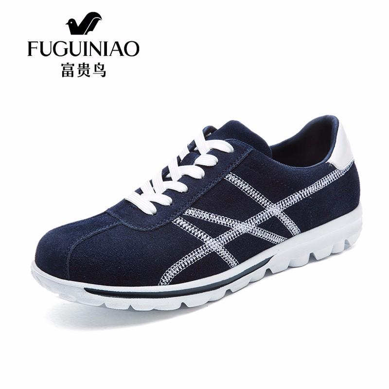 FUGUINIAO Темно-синий 41 обувь ламода