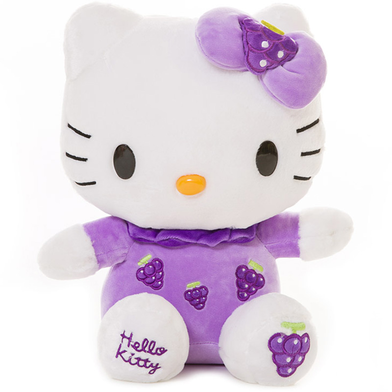 JD Коллекция cxzyking 20cm sweet new kt cat hello kitty plush toys cute hug mushroom hello kitty kt cat pillow dolls for kids baby girl gift
