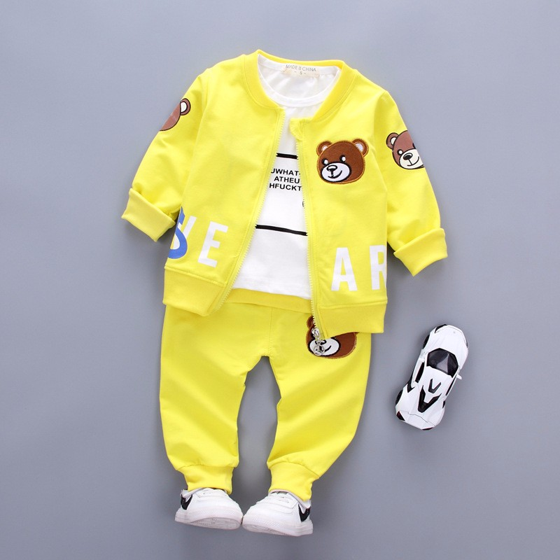 yuyaobaby Yellow 5T children clothing set kids girl clothes 2016 girls sets brand floral dobby kids tracksuit jacket dress girls clothing sets