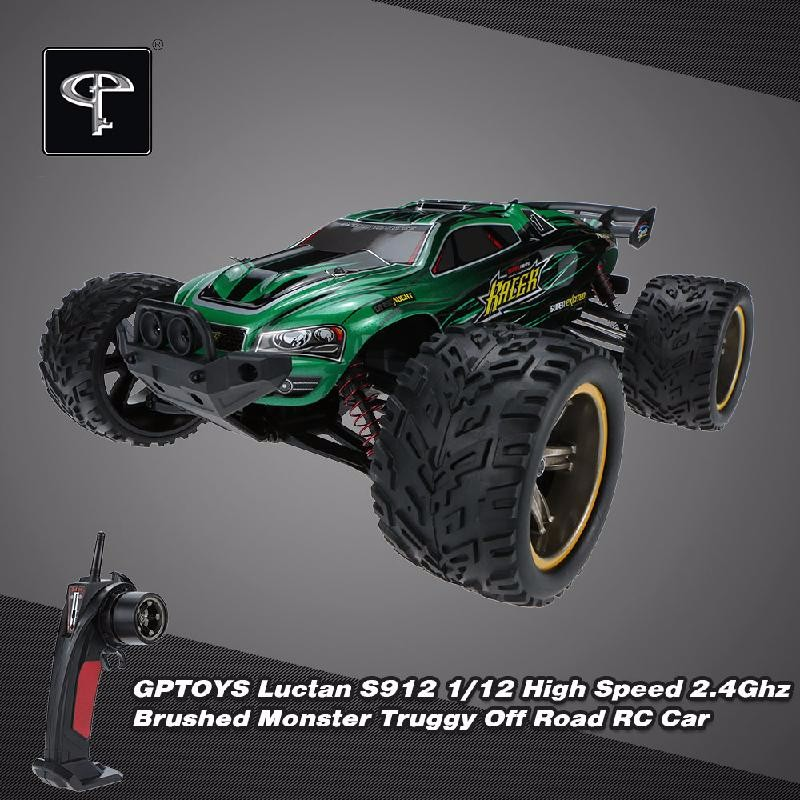 GoolRC Black hsp rally racing monster truck 94063 1 8 electric powered brushless 4x4 off road rtr rc car 3300kv motor