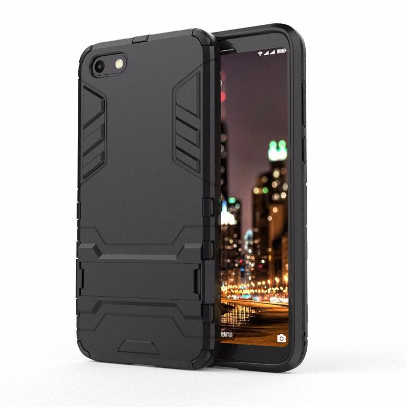 WIERSS черный Ударопрочный жесткий чехол для телефона Huawei Y5 Prime 2018 Y5 2018 DRA-L02