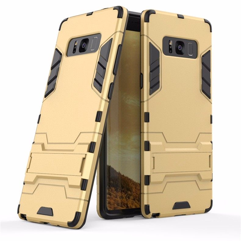 WIERSS Золото для Samsung Galaxy Note8 Shockproof Hard Phone Case для Samsung Galaxy Note8 Примечание 8 SM-N950 N9508 N9500