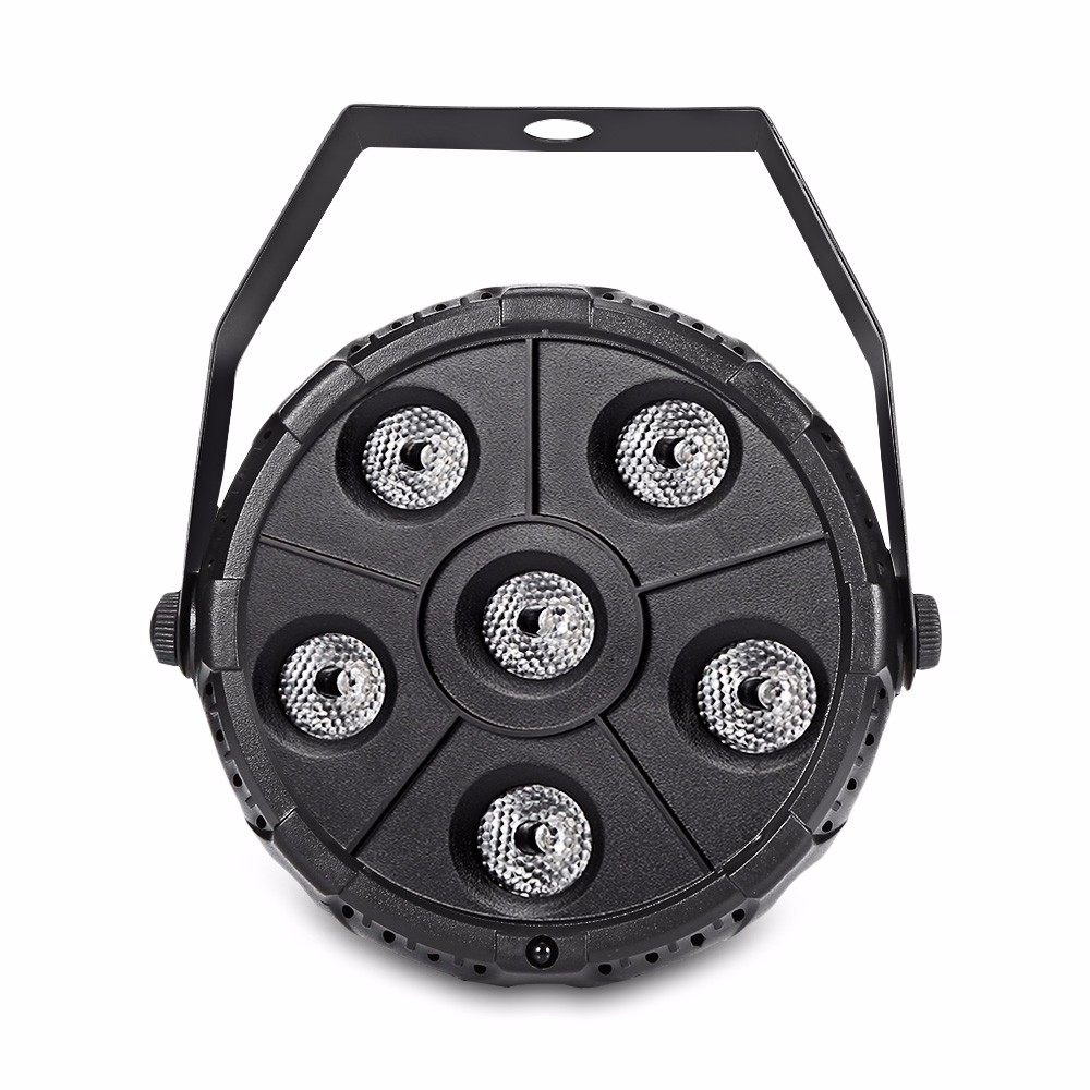 WE YOUNG WE DO Black free shipping 6pcs lot wash disco dj led stage par can light stand indoor par rgbw 54x3w wash lamp for party christmas