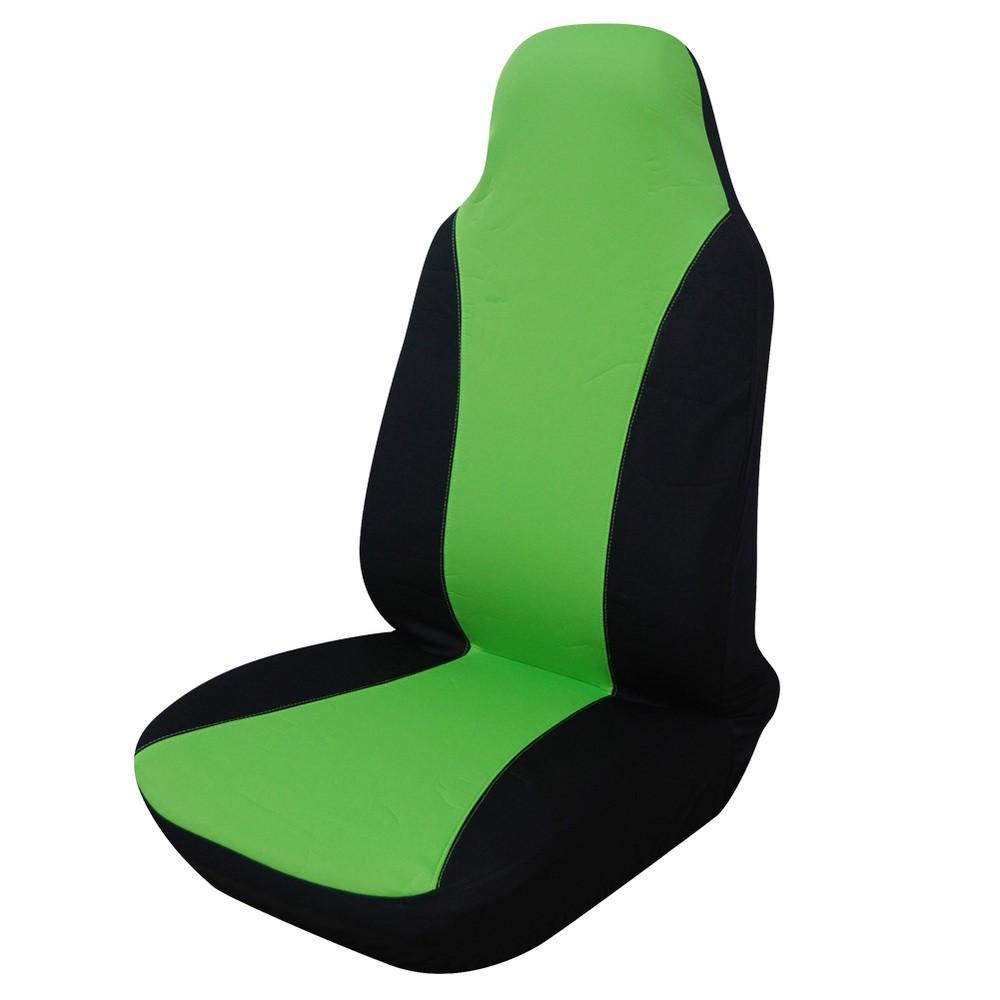 COVERS Зеленая крышка сиденья с высоким задним ковшом