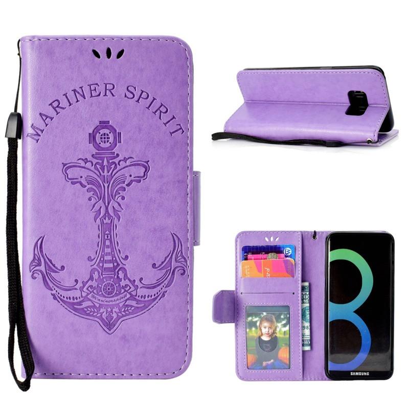 MOONCASE Фиолетовый Samsung Galaxy S8 фасад мдф со стеклом сантук 716х446мм шампань светлый техно