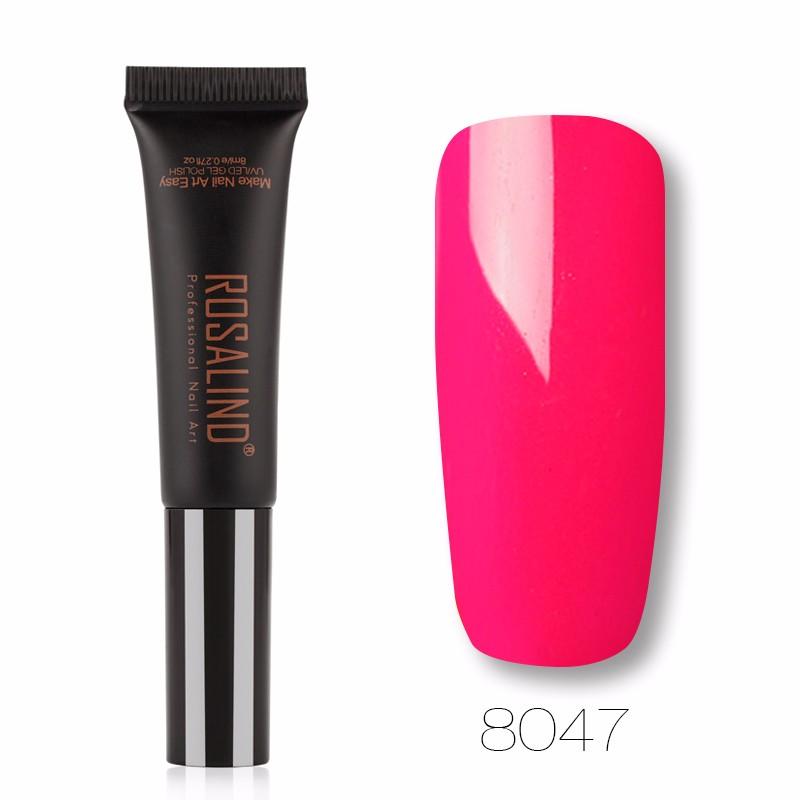 ROSALIND U14 Черный гель лак для ногтей pupa lasting color gel 019 цвет 019 sumptuous mane variant hex name c93a56