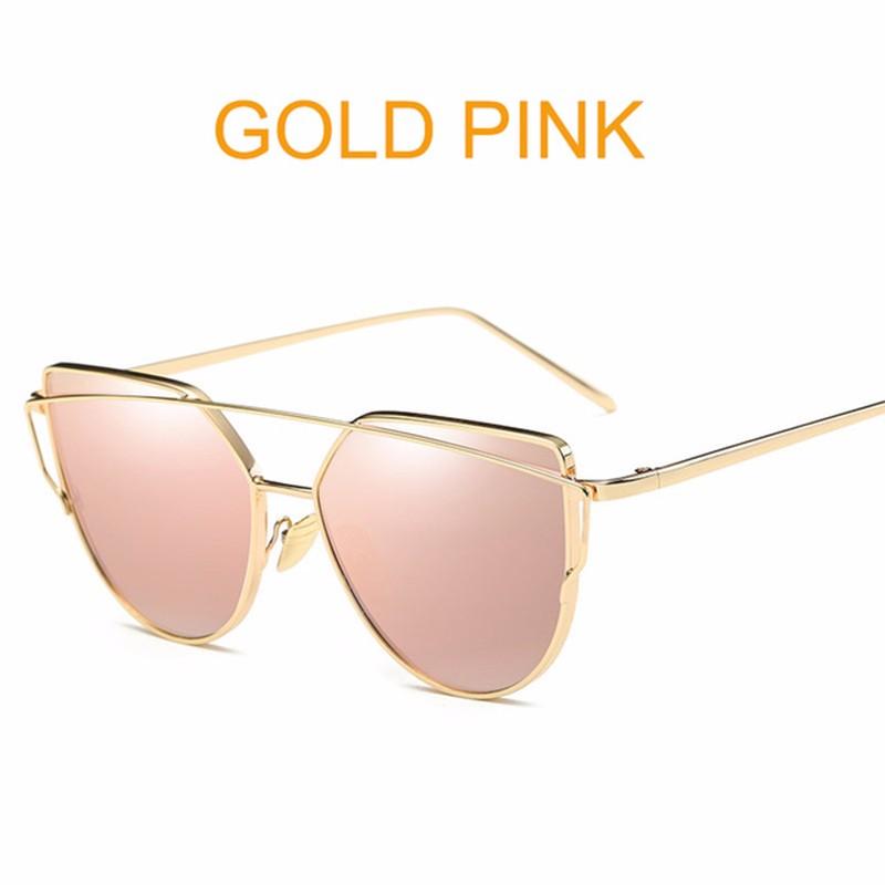 Солнцезащитные очки с розовым золотом Солнцезащитные очки для женщин SHENRAN 1904 goldpink Свободный размер фото