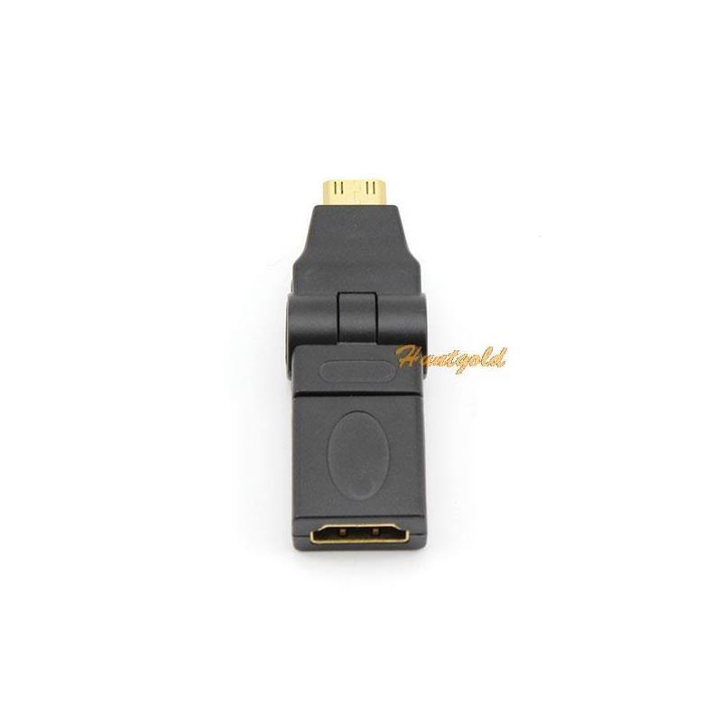 Vanker отель хуаюань микро hdmi мужчина к hdmi женский кабель адаптер д домкрат конвертер 1080р
