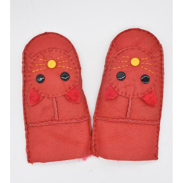 MSMinShu красный Один размер перчатки herman перчатки