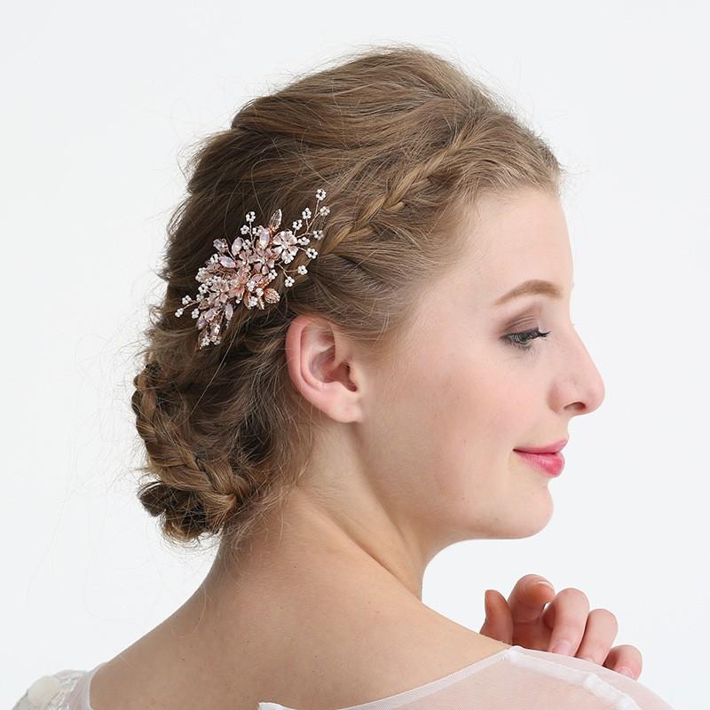 JONNAFE Роза золотой модный Rode Gold Flower