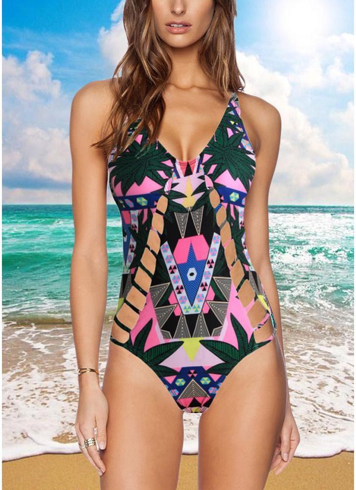 babyonline DRESS Зеленый S sexy style spaghetti straps diamante one piece women s swimwear