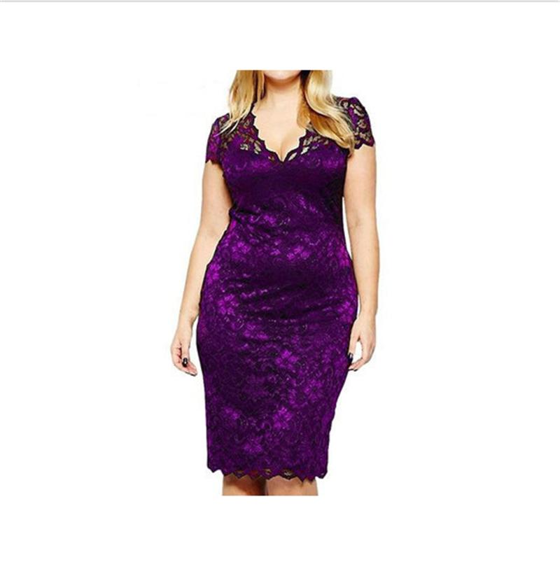 Платье платья шикарного платья женщин платья венчания платья SAKAZY Фиолетовый XXL фото