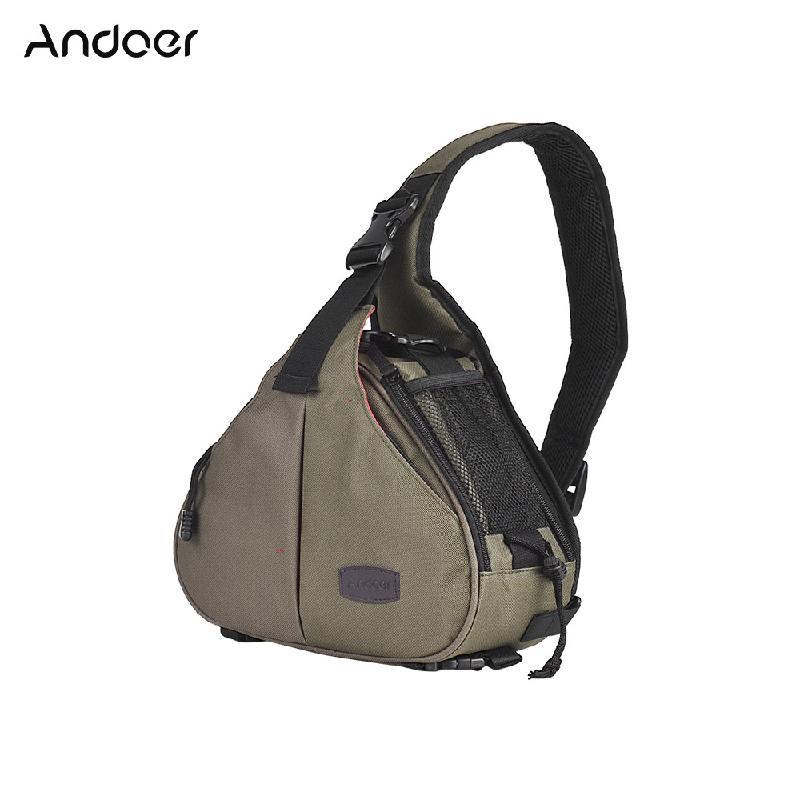 Фото - ANDOER зеленый сумка для видеокамеры oem slr dslr nikon canon sony camera bags