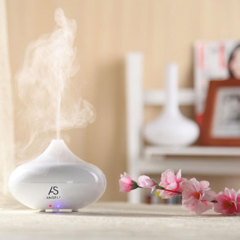 dodocool White crdc changing colors ultrasonic air humidifier aromatherapy electric aroma diffuser mist maker aroma lamp home aroma for office