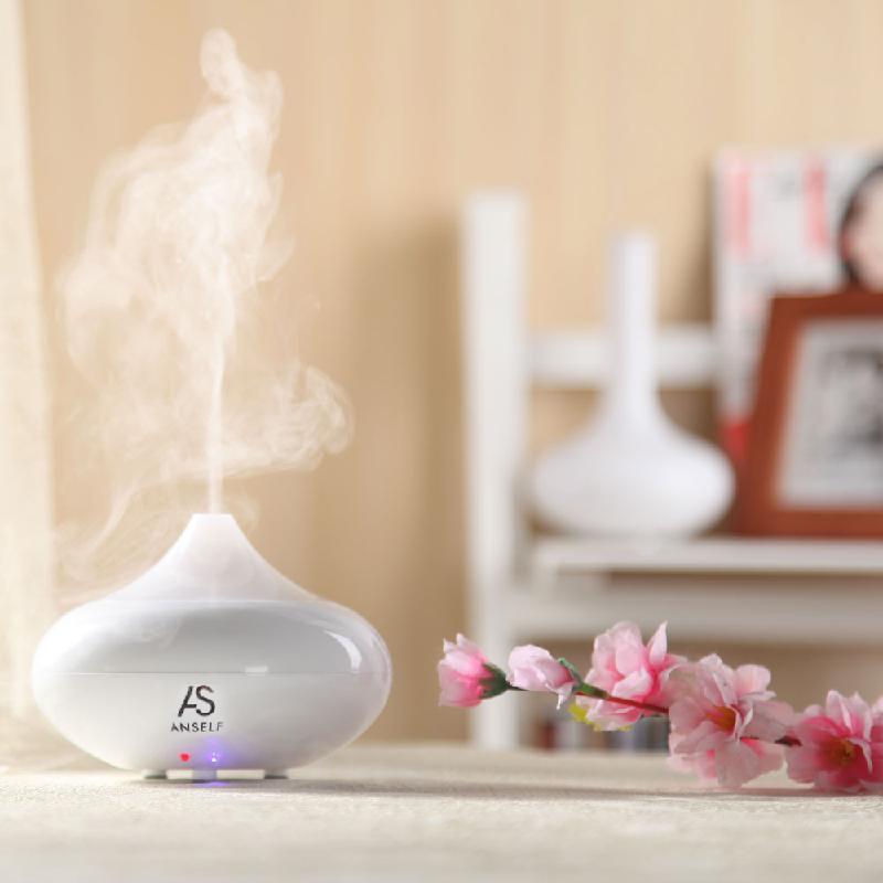dodocool White 130ml woodgrain essential oil diffuser aroma diffuser ultrasonic aromatherapy humidifier mist maker aromatherapy air purifier