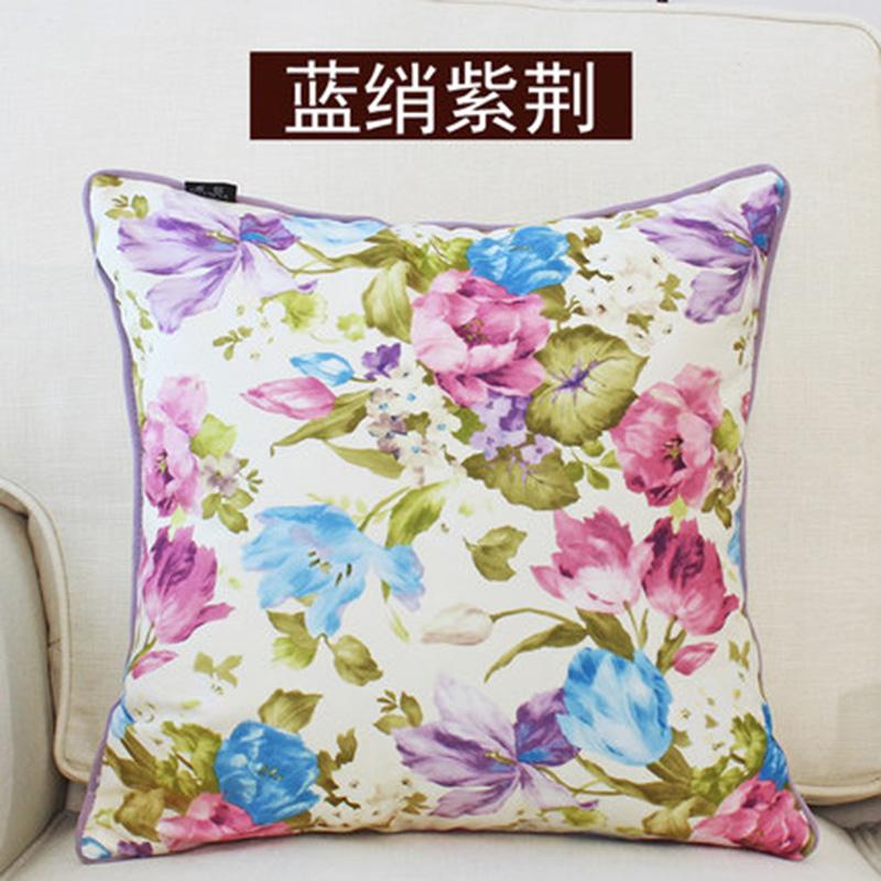 kangfeng Серебристый цвет и золотой цвет подушки декоративные рюшаль подушка