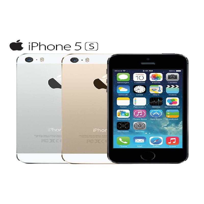 Tissbely Золото Original Unlocked Apple iPhone 5s Smartphone