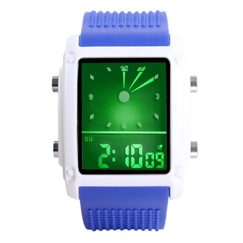 SKMEI Синий skmei спортивные часы кварц желтый 9106