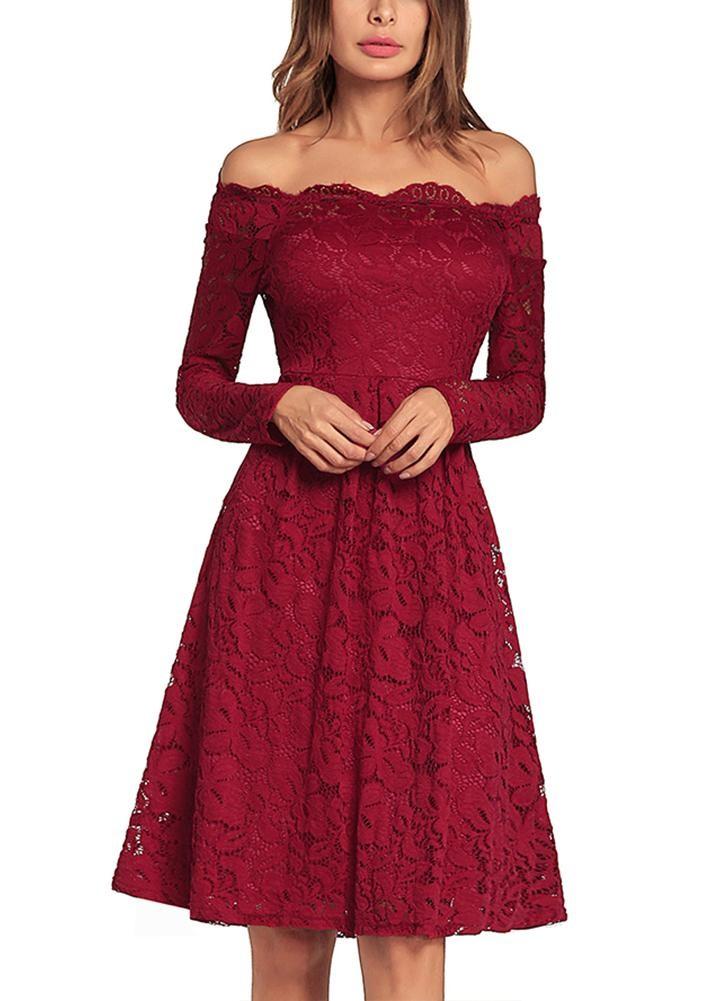 малыш платье красный L