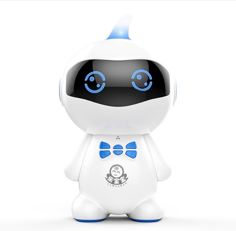ASLED синий tbz дней bozhi хай тек может wang ai интеллектуальный бионический робот интеллектуальные бионические машины собака головоломки детские игрушки