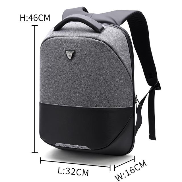 ARCTIC HUNTER Серый arctic hunter business travel laptop backpack male casual black classic backpack for men women waterproof school bag