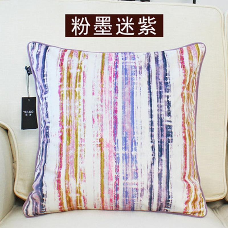 kangfeng Белый цвет подушки декоративные рюшаль подушка