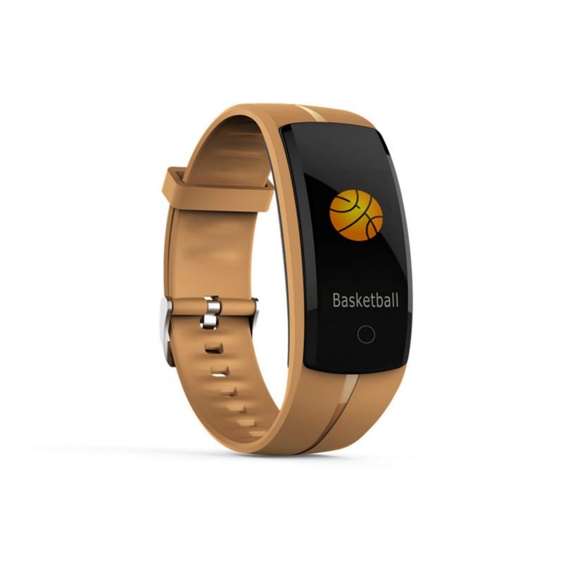 SANDN Золото [официальная глобальная версия] оригинальный xiaomi mi band 2 oled вызов сердечного ритма напомнить ip67 водонепроницаемый смарт браслет для android