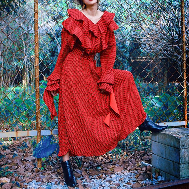hlhphq красный Свободный размер свободный кардиган с длинными рукавами gaudi свободный кардиган с длинными рукавами