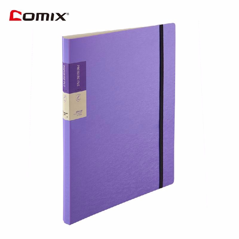 HOMEGEEK Пурпурный ruize multifunction pu leather folder organizer padfolio soft cover a4 big file folder contract clamp with notepad office supply