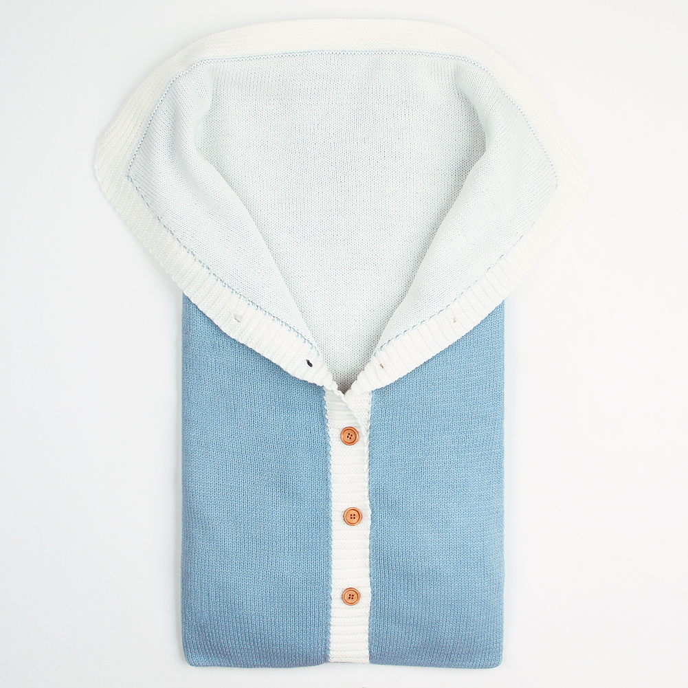 mimixiong Голубой 0-24 месяца спальный мешок